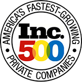 Inc. Magazine - Top 500 of America's Fastest-Growing Private Companies logo